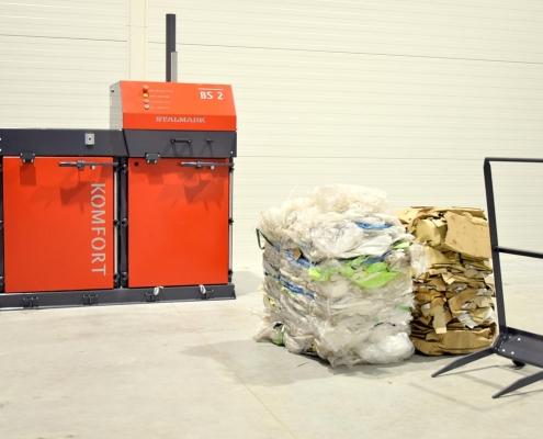 Belownica do odpadów